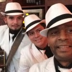 Havana Club trio in fire Restaurant Dublin